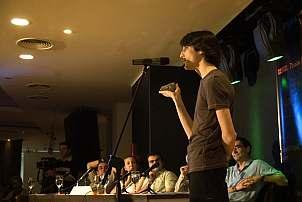 Ο Σταύρος Δημητριακούδης γοήτευσε κοινό και επιτροπή στον τελικό του Famelab 2009