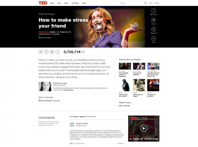 Το TED.com αλλάζει και γίνεται (ακόμα) πιο ελκυστικό