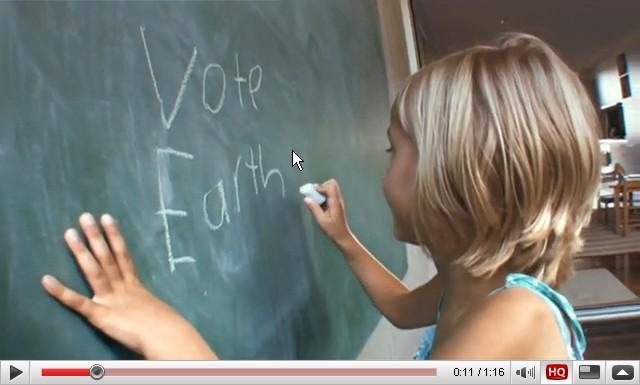 Τα παιδιά δίνουν την ψήφο τους στη Γη!