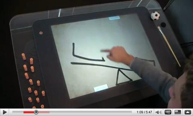 Οι νόμοι της φυσικής στο Microsoft Surface: γίνετε Da Vinci ζωγραφίζοντας με τα δάκτυλά σας!