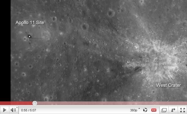 Η NASA μας πηγαίνει μια βόλτα στο φεγγάρι με το Lunar Reconnaissance Orbiter