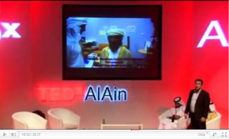 TEDxAlAin: ο Νίκος Μαυρίδης ...καλλιεργεί ρομπότ στην έρημο