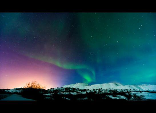 Ηλιακή καταιγίδα + βόρειο σέλας = πάρτυ στον ουρανό!