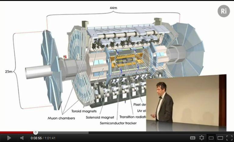 Ο Jon Butterworth μιλάει για την ηλεκτρασθενή συμμετρία και το LHC