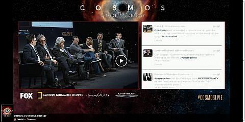 Ο Neil deGrasse Tyson παίρνει τη σκυτάλη από τον Carl Sagan και μιλά για την εμπειρία του Cosmos