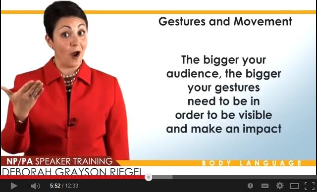 Πώς η γλώσσα του σώματος μπορεί να κάνει τη διαφορά σε μια παρουσίαση