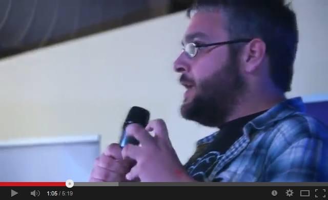 Ο Νίκος Μουστάκας μιλά για την επίδραση του άγχους στον οργανισμό στο Famelab Greece 2014