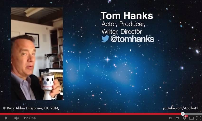 Ο Tim Allen και ο Tom Hanks μιλούν για το πώς έζησαν την προσσελήνωση του Apollo 11